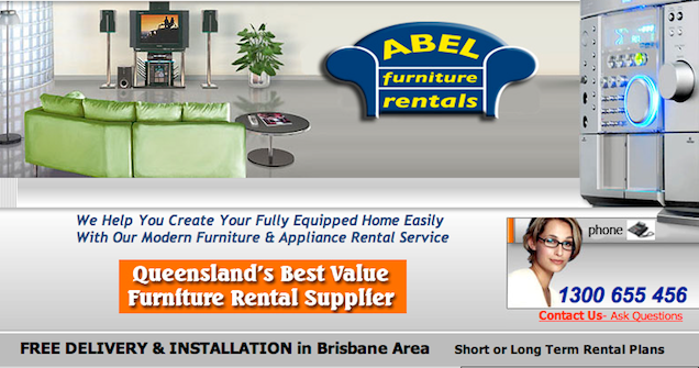 Abel Furniture Rentals Furniture Hire In Brisbane